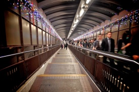 Hong Kong World's Longest Escalator