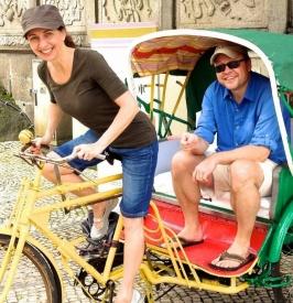 Rickshaw fun