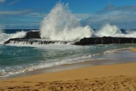 Hawaii beach break