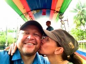 Bangkok river boat ride